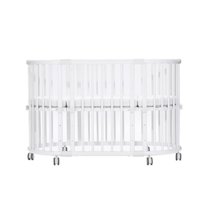 baby-fair Beblum Sam Crib Bundle (White)