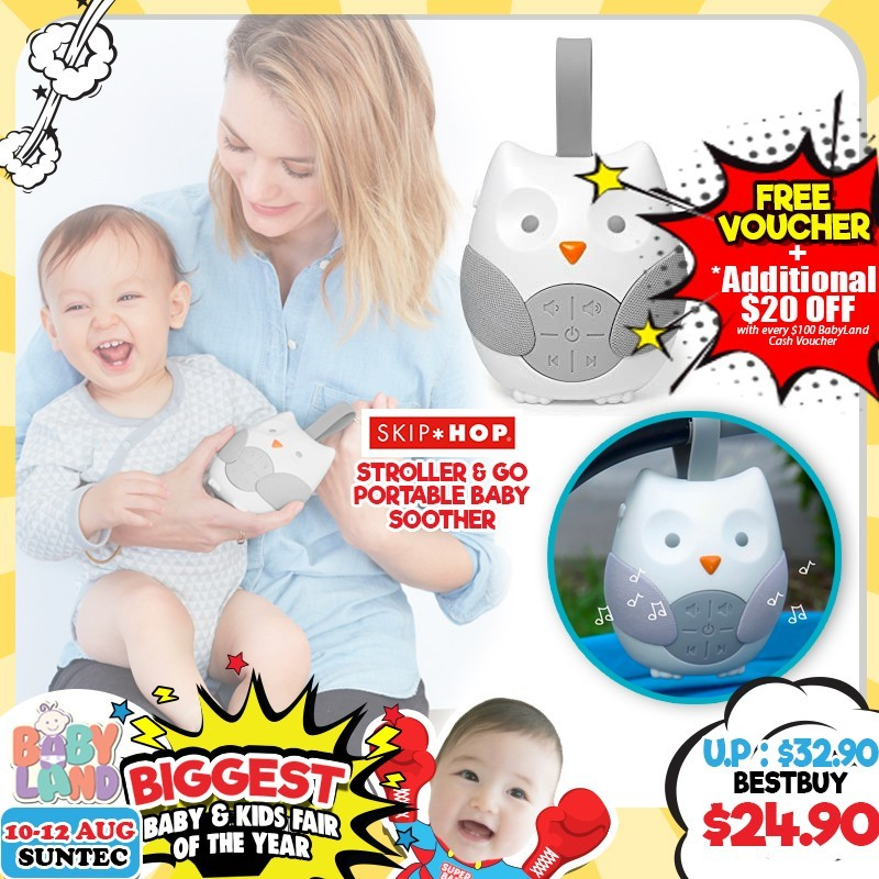Skip Hop Stroller & Go Portable Baby Soother