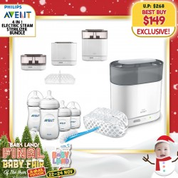 baby-fairPhilips Avent 4-In-1 Electric Sterilizer Bundle + Free Natural Newborn Starter Set (Bottles)