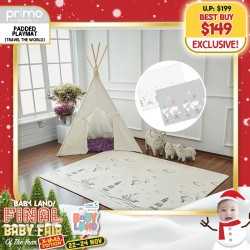 baby-fairPrimo Babies Travel the World Playmat (Standard) + FREE Wet Tissue Pouch
