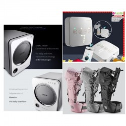 baby-fairHaenim 3rd Gen UV Sterilizer + 7A Pocket Bluetooth Breastpump + 9+ The All-In-One Carrier Bundle + FREE GIFTS!!