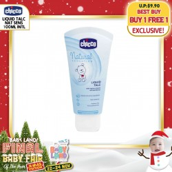 Chicco 4 in 1 Nappy Cream OR Talc (Baby Skincare)  BUY 1 GET 1 FREE