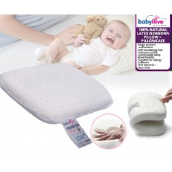 baby-fairBabylove Natural Latex Nweborn Pillow + Pillowcase *ADDITIONAL OFF for EARLY BIRD Specials!