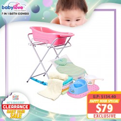 baby-fairBabylove Baby Bath Tub Combo 7 in 1 Bundle *ADDITIONAL OFF for EARLY BIRD Specials!