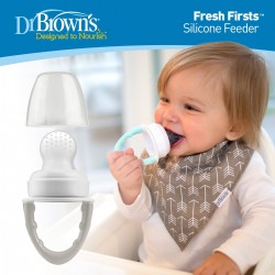 baby-fairDr Brown Fresh Firsts Silicone Feeder (3 Colors Available)