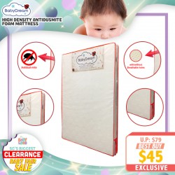 baby-fairBabyDream AntiDustmite Foam Mattress with Ventilation Holes (For Baby Cot or Playpen)